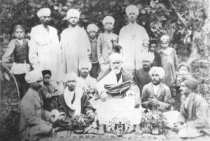 Swami Lakshmanjoo with Swami Mahatabkak